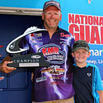Mark Modraks Lake St Clair BFL win weigh in video