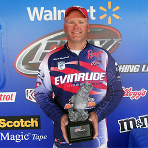 Mark Modrak wins the 2012 Walmart BFL Michigan Division Super Tournament on the Detroit River