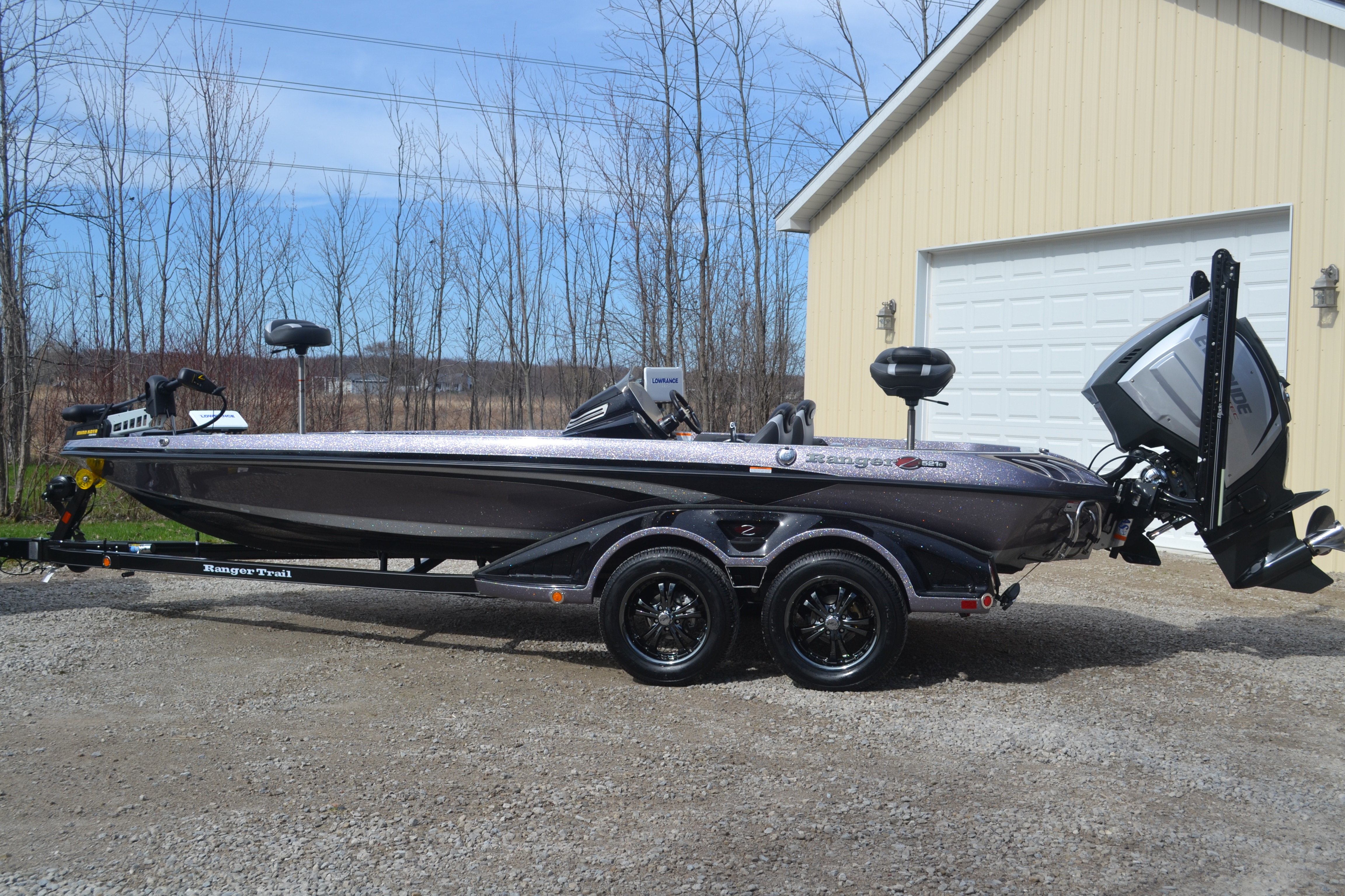 Boats with evinrude motors for Bass boats with evinrude motors